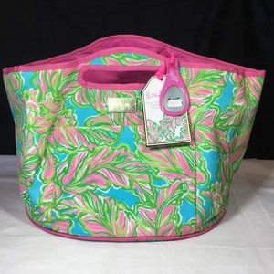 Lily Pulitzer insulated beverage bucket cooler NWT